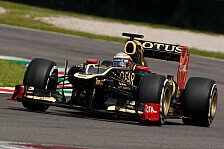 Formel 1 - Lotus: D'Ambrosio Favorit als Grosjean-Ersatz