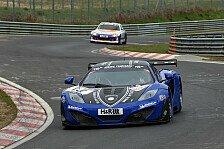 24 h Nürburgring - Motorwechsel bei Gemballa