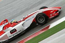 Formel 2 - Zanella im freien Training Schnellster