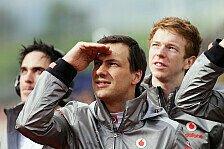 Formel 1 - Young Driver Test: McLaren wohl mit Paffett/Turvey