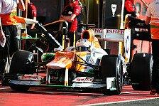 Formel 1 - Force India: Gut aufgestellt für Barcelona