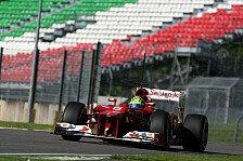Formel 1 - Massa bezweifelt Wert des Mugello-Tests