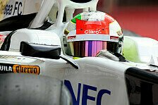 Formel 1 - Perez hat das Podium im Visier