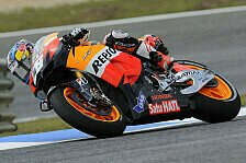 MotoGP - Pedrosa im 3. MotoGP-Training in Estoril vorne