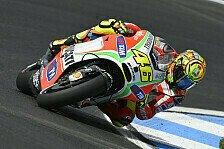 MotoGP - Rossi moniert weiter die Kraftübertragung