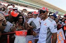 Formel 1 - Hamilton & Button: Hilfe für Tribünen-Opfer