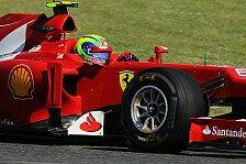 Formel 1 - Massa fühlt sich wohl bei Ferrari