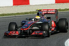 Formel 1 - Hamilton schnappt sich die Spanien-Pole