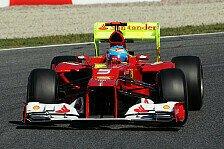 Formel 1 - Alonso im ersten Barcelona-Training voran