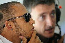 Formel 1 - Hamilton kämpfte mit dem Auto