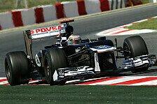 Formel 1 - Stressiger Tag bei Williams
