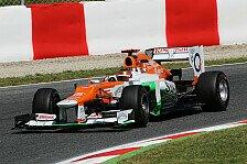 Formel 1 - Bianchi genoss Freitagstest