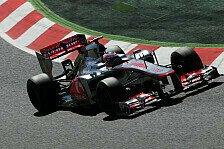 Formel 1 - 2. Training: Button fährt Bestzeit