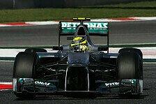 Formel 1 - Rosberg erlebte schwierige Reifen