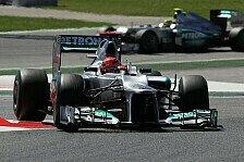 Formel 1 - Viele Fragezeichen bei Rosberg und Schumacher