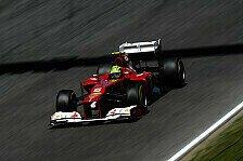 Formel 1 - Massas erster Update-Eindruck gut