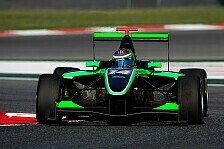 GP2 - Lotus-Junior Stockinger zu Status GP