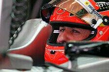 Formel 1 - Schumacher sparte Reifen