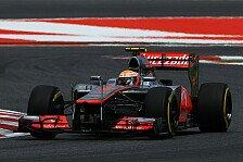 Formel 1 - Hamilton gibt sich trotz Strafe kämpferisch