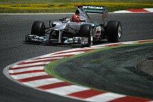Formel 1 - Schumacher: Kein Grund zur Panik