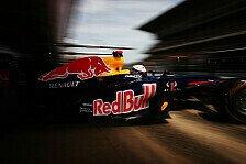 Formel 1 - Kaum neue Teile bei Red Bull