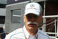 Formel 1 - Zetsche: Bessere Voraussetzungen