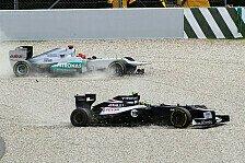 Formel 1 - Schumacher sauer auf Senna