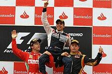 Formel 1 - Maldonado: Ein wundervoller Tag