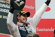 Formel 1 - Maldonado: Will natürlich gewinnen