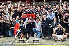 Formel 1 - Williams: Vom Sieg beflügelt