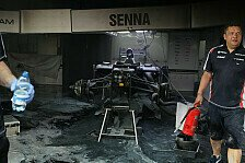 Formel 1 - Nach Boxenfeuer: Williams ist einsatzbereit