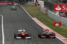 Formel 1 - Hamilton: Werden auch wieder Glück haben