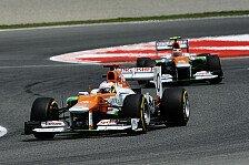 Formel 1 - Mallya: Fahrerpaarung bleibt 2013 bestehen