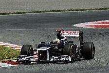 Formel 1 - Williams vor Monaco nicht zu selbstsicher