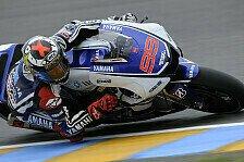 MotoGP - Lorenzo muss nur die Bremse verbessern