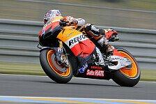 MotoGP - Stoner stürzt und fährt Bestzeit