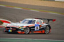 24 h Nürburgring - Mercedes auf Rang drei