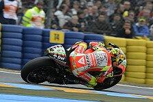 MotoGP - Rossi mit Visierproblem zu Platz zwei