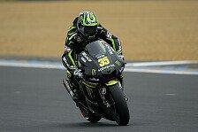 MotoGP - Regen-Warm-Up geht an Crutchlow