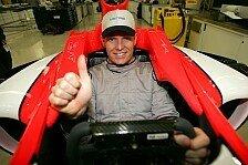 Formel 1 - Bilder: Midland F1: Seat Fitting Jeffrey van Hooydonk