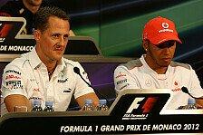 Formel 1 - Hamilton: Schumachers Charakter wird sich zeigen