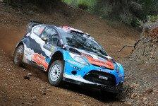 WRC - Östberg bei Rallye Estland am Start