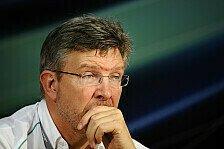Formel 1 - Brawn: Ganzes Team war nicht gut genug