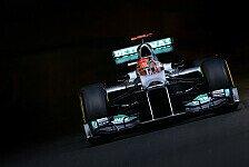 Formel 1 - Schumacher fühlte sich im Auto wohl