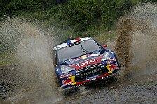 WRC - Loeb baut Griechenland-Führung aus