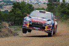 WRC - Loeb holt dritten Sieg bei der Akropolis