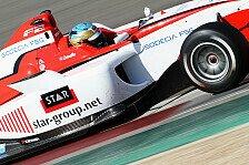 Formel 2 - Christopher Zanella siegt in Lauf zwei