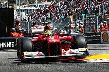 Formel 1 - Ferrari mit dem besten Qualifying der Saison