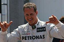 Formel 1 - Schumacher will sechsten Monaco-Sieg holen