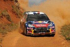 WRC - Loeb vor drittem Griechenland-Sieg